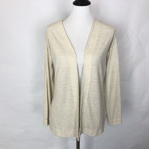 Ann Taylor LOFT Open Front Cardigan Top Duster